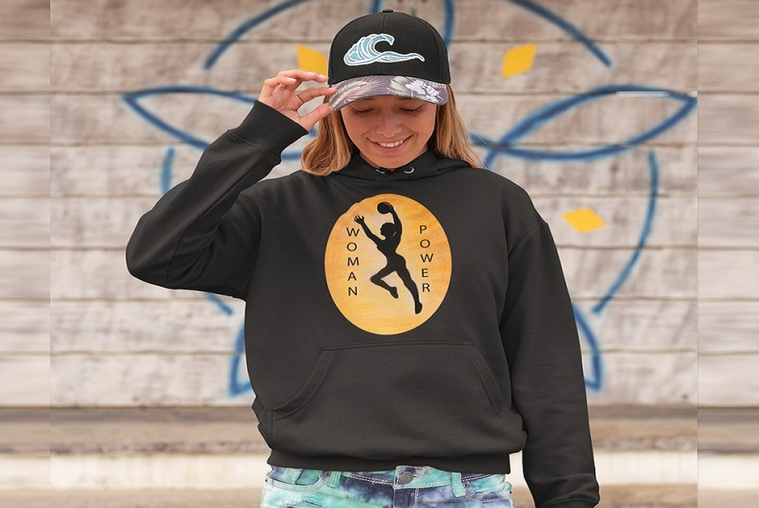 pullover-hoodie-mockup-of-a-long-haired-girl-wearing-a-cap-against-a-summer-wall-drawing-26811
