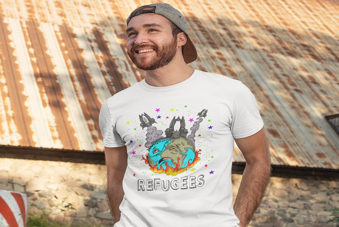 t-shirt-mockup-of-a-man-posing-in-front-of-an-old-structure-281