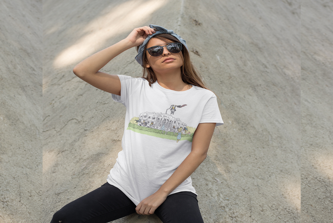 t-shirt-mockup-of-a-trendy-woman-with-sunglasses-leaning-over-a-concrete-structure-27340